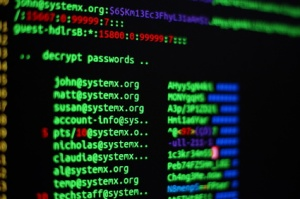 Retrieving passwords from an hacked computer