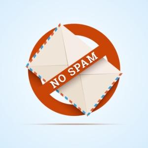 No spam illustration. Vector in EPS10.