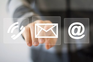 Business set button web messaging mail sending icon sign